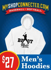 MyShopConnected Men's Baseball Hoodies and Sweatshirts